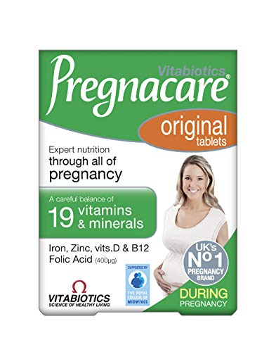 Vitabiotics Pregnacare During Pregnancy Original 30 Tablets