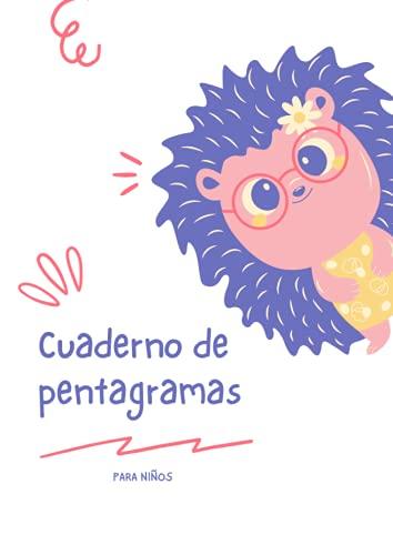 Cuaderno De Pentagramas Para Niños: Cuaderno De Música Para Niños | Tamaño...