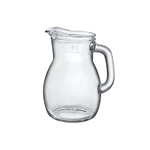 Pichet carafe à décanter pour vin eau boissons de la Bormioli modèle Bistrot contenance 1 litre
