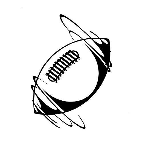 2 Stück, lustige Auto Aufkleber Versicherung Black Box, Vinyl Aufkleber Aufkleber Auto Fenster Stoßstange, Spinning Rugby Black Auto Aufkleber / Aufkleber, für LKWs, Fenster, Wände, Laptops und andere