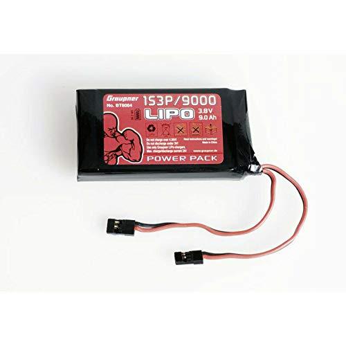 Graupner Senderakku TX LiPo 1S3P/9000 3,8V 34,2Wh BT8084