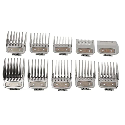 10PCS Cutting Guide Comb Barbers Hairdressing Tool Set Limit Comb Set Styling Comb Set for Afro Hair