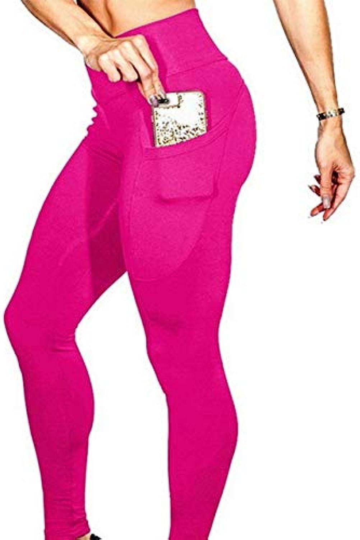 Greenvie Women High Waist Sport Leggings Push Up Pock Leggings Sport Fitness Femme Running Fitness Yoga Pants Clothing Style 10, S
