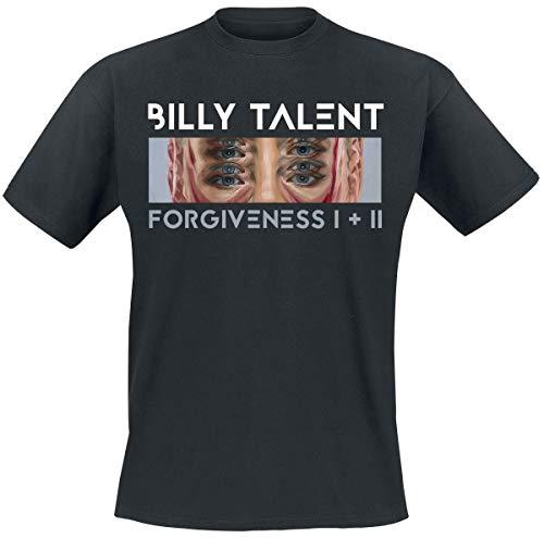 Billy Talent Forgiveness Eyes Männer T-Shirt schwarz L 100% Baumwolle Band-Merch, Bands