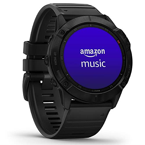 Garmin fenix 6X PRO - GPS-Multisport-Smartwatch mit Sport-Apps, 1,4