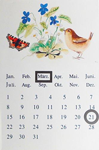 Dauerkalender Vogel