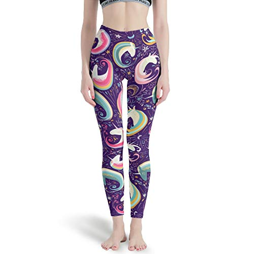 O5KFD & 8 dames patroon sportlegging retro naadloos broek stretch lopen tight leggings dames -