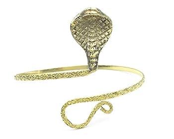Armlet snake indian gypsy vintage arm cuff Snake cobra Upper arm band,Indian Brass armlet Bohemian tribal jewellery Arm Bracelet