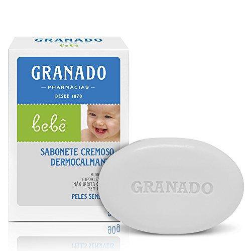 Sabonete Bebê Pele Sensível, Granado, Branco, 90g