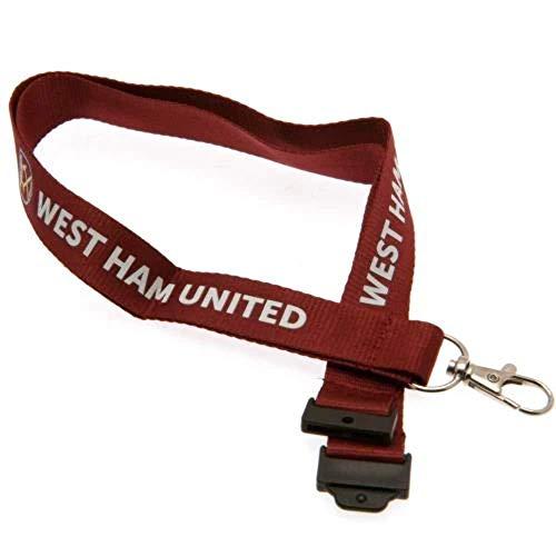 West Ham United F.C. Lanyard / ウエスト ハム ユナイテッド F.C. ランヤード キーホルダー