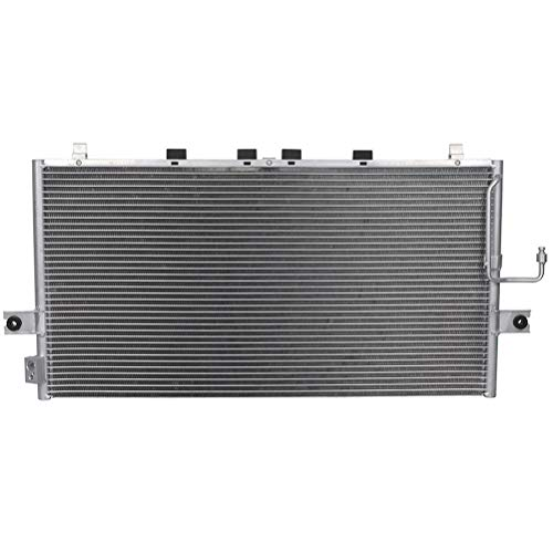 ECCPP Auto Parts Air Conditioning A/C AC Condenser Aluminum A/C AC Condenser Replacement Radiator for 3036 2000 2001 Infiniti I30 2000 Jeep Cherokee 2000 2001 Nissan Maxima