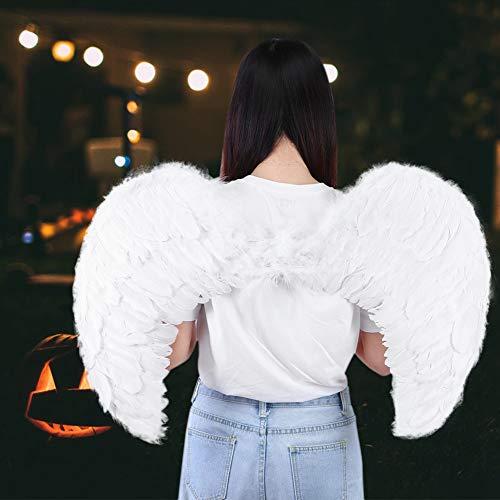 Alas de ángel, accesorios de fotografía natural Ala de plumas, Halloween Niños/adultos para fiesta Etapa Fiestas temáticas Escenario
