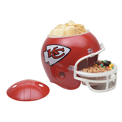 WinCraft Kansas City Chiefs Football NFL Snack Helmet
