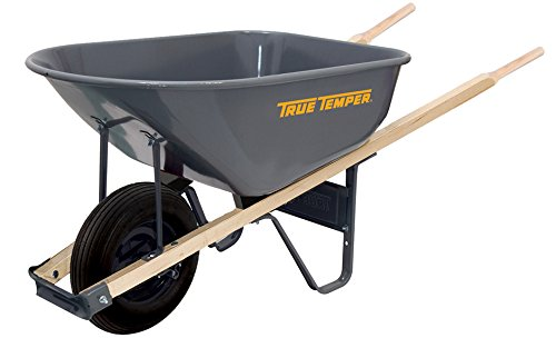 The AMES Companies, Inc R625 True Temper Steel Wheelbarrow, 6-Cubic Foot -  Ames True Temper