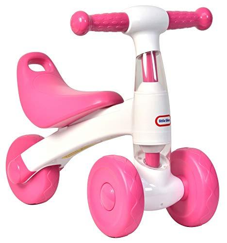 Little Tikes - Bicicletta da passeggio, colore: bianco e rosa