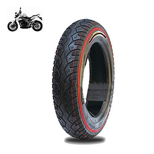 GOHHK Elektrorollerreifen Langlebige Räder, Vakuumreifen 3.00-10, 6pr Farbkanten, rutschfeste, verschleißfeste Reifen, stabil und komfortabel und Starke Passierbarkeit