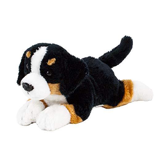 Teddys Rothenburg Kuscheltier Berner Sennen liegend braun/schwarz/weiß 20 cm Plüschhund