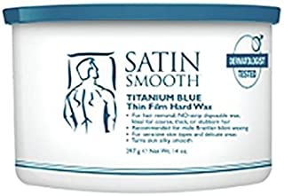 SATIN SMOOTH Prof. Titanium Blue Thin Film Hard Wax