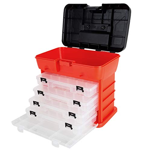 Storage and Toolbox- Durable Organizer Utility Box Now $8.92 (Was $29.72)