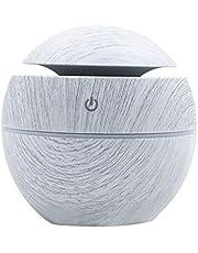 Aroma Etherische Diffuser olie Air Diffuser LED Aroma Aromatherapie Luchtbevochtiger met 7-kleurig LED-licht, BPA-vrij voor slaapkamer, kantoor, spa