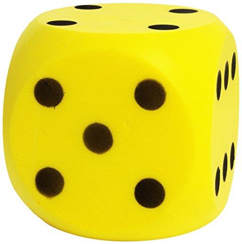 Simba 107352855 - Soft-Spielwürfel, es wird nur ein Artikel geliefert, Höhe 16cm