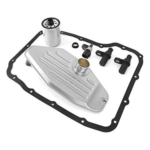 Cosiki Sensor de Velocidad de transmisión, Kit de Junta de Filtro de Aceite de Durabilidad de Piezas de transmisión, Filtro de transmisión automática para Chrysler para transmisión 45RFE 545RFE