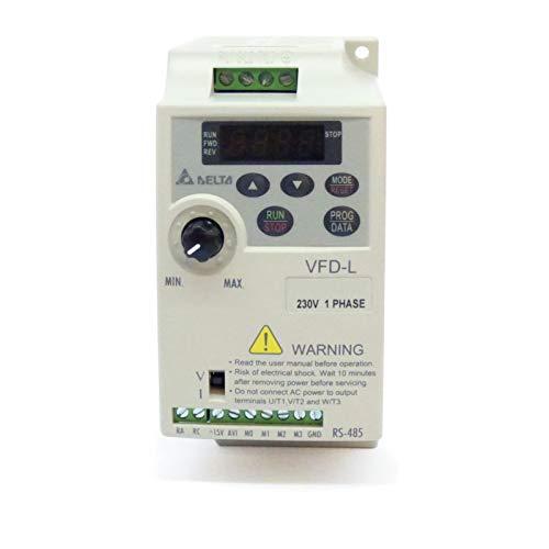 VARIADOR DE FRECUENCIA 0,7 KW MONOFÁSICO 220 V VFD-L