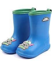 レインブーツ キッズ 子供 長靴 男の子 女の子 ブーツ 子供用 レインシューズ 3D漫画グラフィック ベビー用レインブーツ ジュニア 雨の日 長靴 防水 軽量 滑り止め 雨 雪 子供靴 梅雨対策 通園・通学