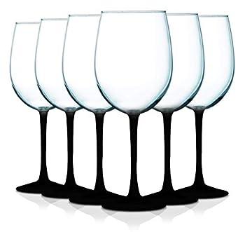 Best black stem wine glasses Reviews