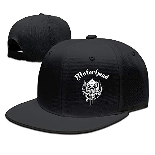 Volte Motörhead British Heavy Metal Rock Band Skull Logo Flat Bill Sn