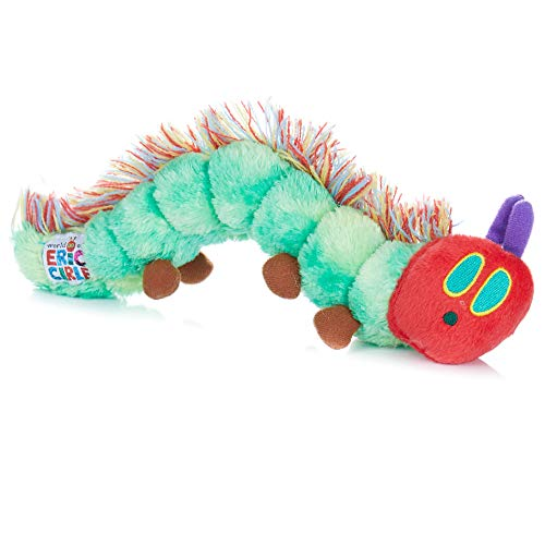 Joy Toy 962110 - Peluche Little Caterpillar Nimmersatt 26 cm