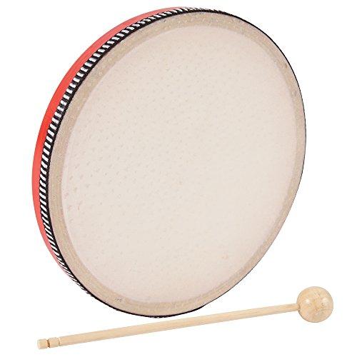 Performance Percussion PP3228 - Tambor de mano (20 cm, con baquetas)
