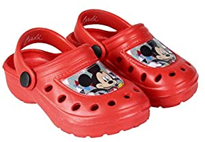 Mickey-Mouse Boys' SAB-G-MIC-233031 Clogs & Mules Red red