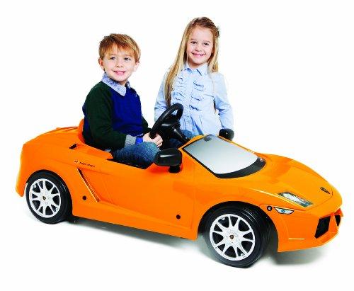 Toys+ Lamborghini Gallardo 12V Ride On, Orange