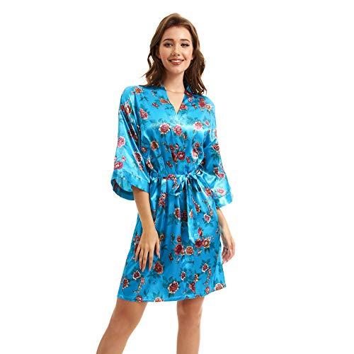 (40% OFF) Ladies Kimono Satin Robe $8.51 – Coupon Code