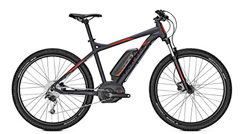 Bicicleta eléctrica Univega, e-MTB, Vision B Edition, 27,5 pulgadas, 9 G, 19, color gris mate RH 44/S Bosch 400 Wh.