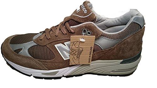 New Balance - Zapatillas de ante para hombre marrón Kaki marrón Size: 44 EU