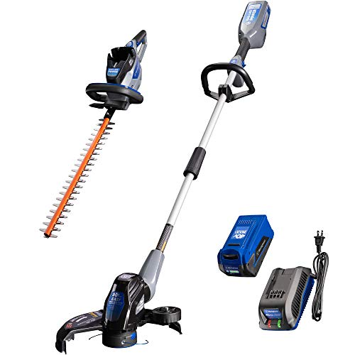 Fantastic Prices! Westinghouse 40V Cordless Hedge String Trimmer/Edger, 2.0 Ah Battery and Charger I...