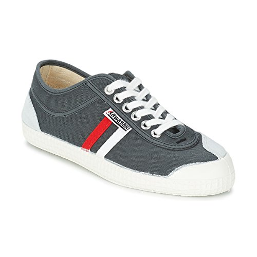 Kawasaki Retro Core Sneaker Herren Grau/Rot/Weiss/Gestreift - 37 - Sneaker Low Shoes