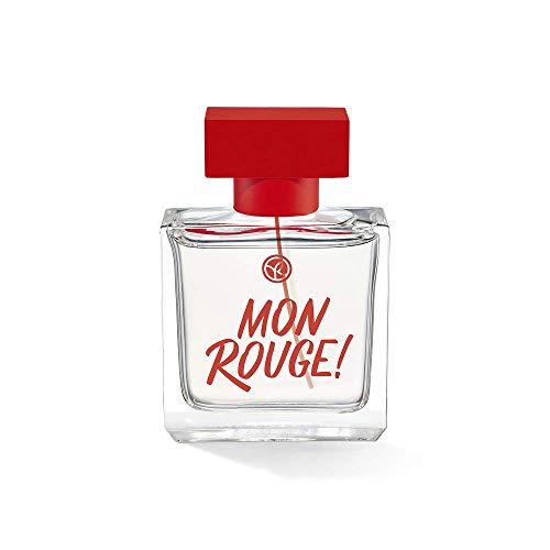 Yves Rocher MON ROUGE! Eau de Parfum Mon Rouge, sinnlich-holziger Duft mit Patchouli, 1 x Zerstäuber 30 ml
