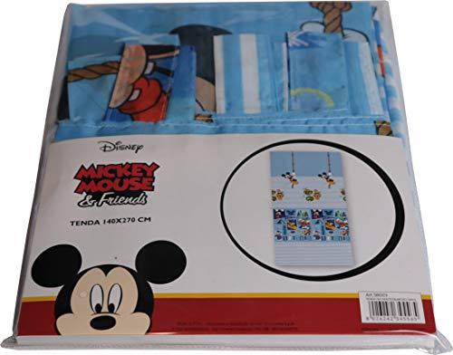 Tenda Disney Cameretta 140 x 270 m Mickey - Topolino - Minnie - Topolina - Frozen (Mickey - Topolino)