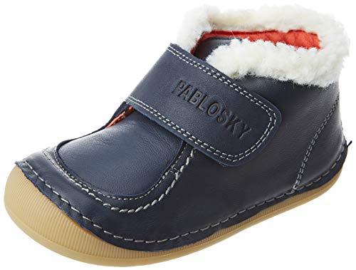 Pablosky Baby-Jungen 083321 Bootsschuh, blau, 21 EU