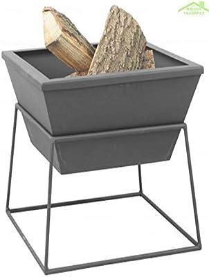 Enjoyfires Einbaubrenner 42x42x14 cm für Feuerstelle