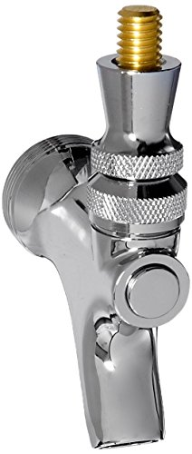 1 X Draft Beer Faucet with Brass Lever- Chrome