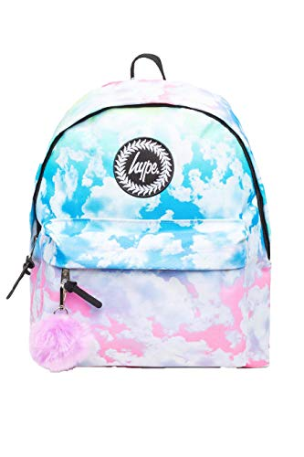 HYPE Pastel Gradient Clouds POM Backpack