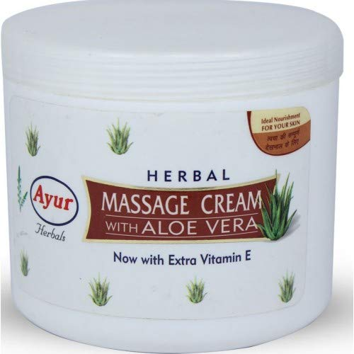 Ayur Herbal with Aloe Vera Massage Cream 500ml with The Goodness of AloeVera
