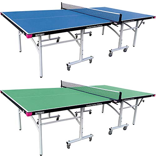 Butterfly Easifold Outdoor Ping Pong Table | Rolling Outdoor Table