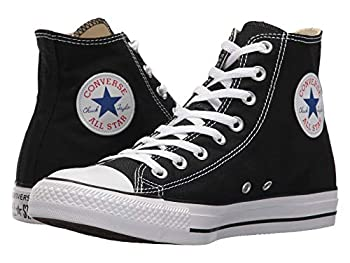 Converse Chuck Taylor All Star High Top Sneaker Black  White Sole  Size 4.5