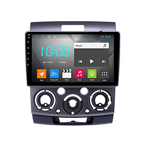 WHL.HH Android 10.0 Video Receptor DVD Jugador Apoyo Vehículo Electrónica para F ORD Ranger 2006-2011 Radio FM WiFi GPS navegación Carro Multimedia Revertir Imagen,S4