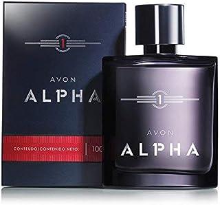 Avon Alpha Eau de Toilette Spray for men 3.4 Fl Oz Woody/Earthy